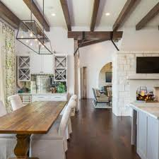 Image Ruth Inspiration For Large Cottage Dark Wood Floor Kitchendining Room Combo Remodel In Austin Houzz 75 Most Popular Luxury Farmhouse Dining Room Design Ideas For 2019