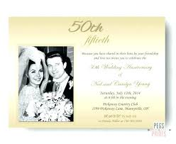 50th wedding anniversary announcement template wedding anniversary announcement wording best silver wedding anniversary invitation wordings images