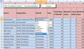 Salary Chart In Excel Format Download Salary Sheet Excel Template Exceldatapro