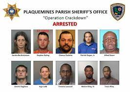 'Operation Crackdown' roundup snares 19 in Plaquemines Parish narcotics  investigation | Crime/Police | nola.com
