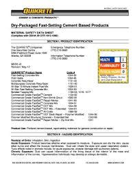 Sakrete Mix Design Submittal Fill Online Printable