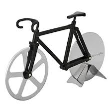 Bicycle Wheel Display Stand Amazon Bicycle Pizza Cutter Original PIZZA WHEELIE Dual 27