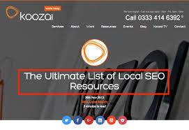 koozai seo resource list