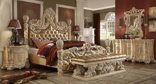 King Bed Bedroom Sets Homey Design Hd 7266 5pcs Traditional Estern King Bed Set