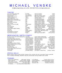88 Acting Resume For Beginner Headshot Resume Resume For