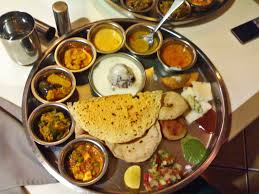 poppadom accompaniments n thali typical n vegetarian food