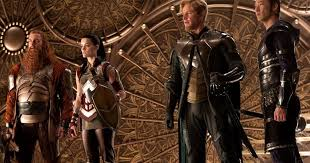 Image result for thor dark world warriors three