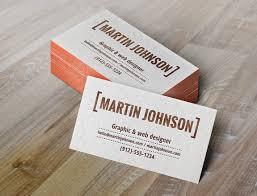 Letter Press Business Card Letterpress Business Cards Mockup Graphicburger