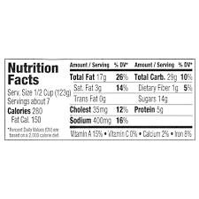 Walmart Deli Nutrition Chart Freshness Guaranteed Amish Macaroni 2lb