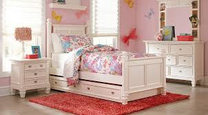 white furniture for girls. Delighful Girls Belmar White 5 Pc Full Poster Bedroom On Furniture For Girls