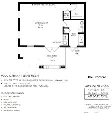 small pool house floor plans. Small Pool House Floor Plans Lovely Bradford Plan New E