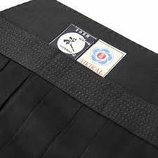 Tozando Deluxe Cotton Aikido Hakama Take Size 25 Black
