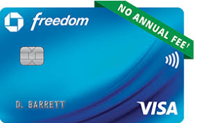 chase freedom registered trademark credit card no annual fee dagger