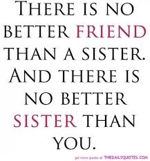 Loving My Sister