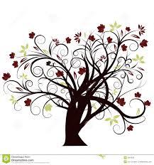 Tree Design Vector Autumn Tree Design Stock Vector Illustration Of Curl 2951628