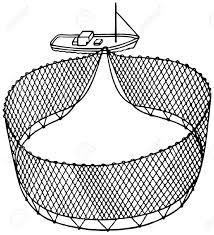 fishing net clipart black and white. Modren Black Fishing Net Drawing At GetDrawings With Clipart Black And White