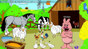allegory in animal farm characters examples video lesson  personification in animal farm