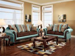 sofas with wood trim tremendous mulligan two tone teal brown carved rolled arm sofa set sm7610