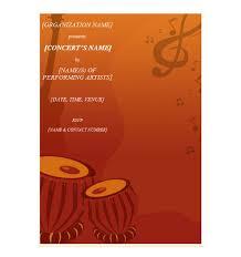 Concert Invite Template Concert Invitation Template Concert Invitations