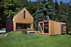 Wooden Cottage Design A Contemporary Wooden Cottage By Prodesi Small House Bliss