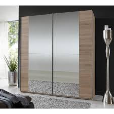 sliding door bedroom furniture. Qmax \u0027Hilton\u0027 180cm Sliding Door Wardrobe, Light Oak - German Bedroom Furniture. Furniture