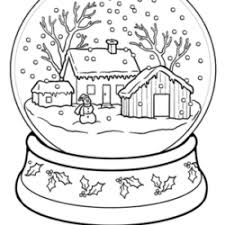 Here is a huge collection of winter coloring pages free for you to print out. Christmas Winter Coloring Pages For Kids To Color