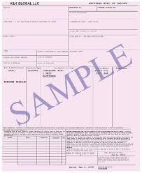 bill of loading all about bill of lading airway bill taxguru