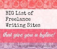 sites looking for writers now byline included