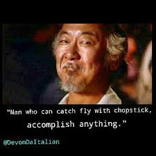 Karate Kid Quotes Stunning Karate Kid Mr Miyagi Quotes Movie Quotes Pinterest Miyagi
