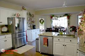 Kitchens Decorated For Christmas Christmas Christmas Kitchen Decor