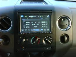 how to remove factory radio for indash navigation on 2004 & up Ford 2004 F150 Radio Wiring Diagram how to remove factory radio for indash navigation on 2004 & up f150's nav wiring diagram for ford f150 2004 radio