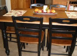 6 Seater Kitchen Dining Set Kitchen Table 6 Chairs Black