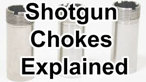Choke Diameter Chart Shotgun Chokes Explained Cylinder Improved Cylinder