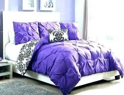 dark purple comforter set twin king size velvet bedding crushed deep bed linen