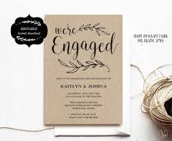 Engagement Invitation Template Engagement Invitation Template Printable Engagement Party 1