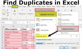 Duplicate Chart Excel Find Duplicates In Excel Step By Step How To Find