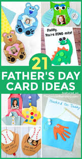 Choose and personalize a free father's day card template from our library of over 200 designs and make your dad feel special in just a few clicks. 21 Personalized Father S Day Card Ideas For Kids To Make