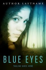 sold blue eyes premium premade book cover the image to visit my site cover available for purchase or layby for us 70