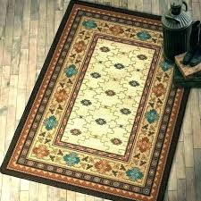 western style runner rugs area rustic for cabin or amazing southwest generations rug collection wild wings western style runner rugs