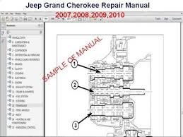 jeep grand cherokee repair manual 2007 2008 2009 2010 jeep grand cherokee repair manual 2007 2008 2009 2010