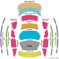 Aaa Seating Chart View Straz Seating Seating Chart