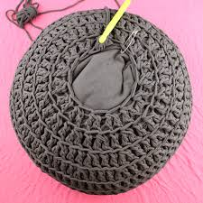 What To Fill A Crochet Pouf With