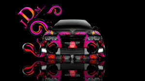 toyota chaser jzx0 jdm fire up abstract car