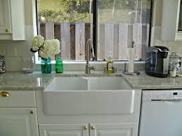 Apron Front Kitchen Sink White Farmhouse Sink Kitchen Design White Farmhouse Kitchen Sink