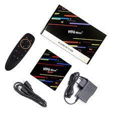 Home Entertainment H96 Max Plus RK3328 4GB RAM 32GB ROM USB 3.0 TV Box  Android 8.1 Netflix 4K Media Streamers