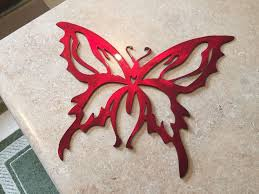 plasma cut custom painted butterfly style 4 metal wall art home decor on plasma cut metal wall art with plasma cut custom painted butterfly style 4 metal wall art home