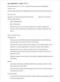 Wordpad Resume Template Mesmerizing Resume Templates For Word Pad Free Resume Templates Sample College
