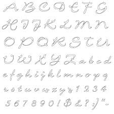 Lettering Stencils To Print Alphabet Letter Template 9 Printable Block Letters Free Sample
