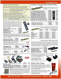 Browning Choke Tubes Chart Carlsons Replacement Choke Tubes Midsouth Shooters Supply