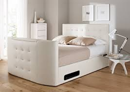 Ottoman In Bedroom Atlantis Leather Ottoman Tv Bed White Ottoman Beds Beds